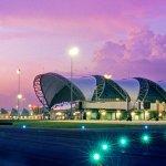 Flughafen Bangkok: Warten auf die Touristen