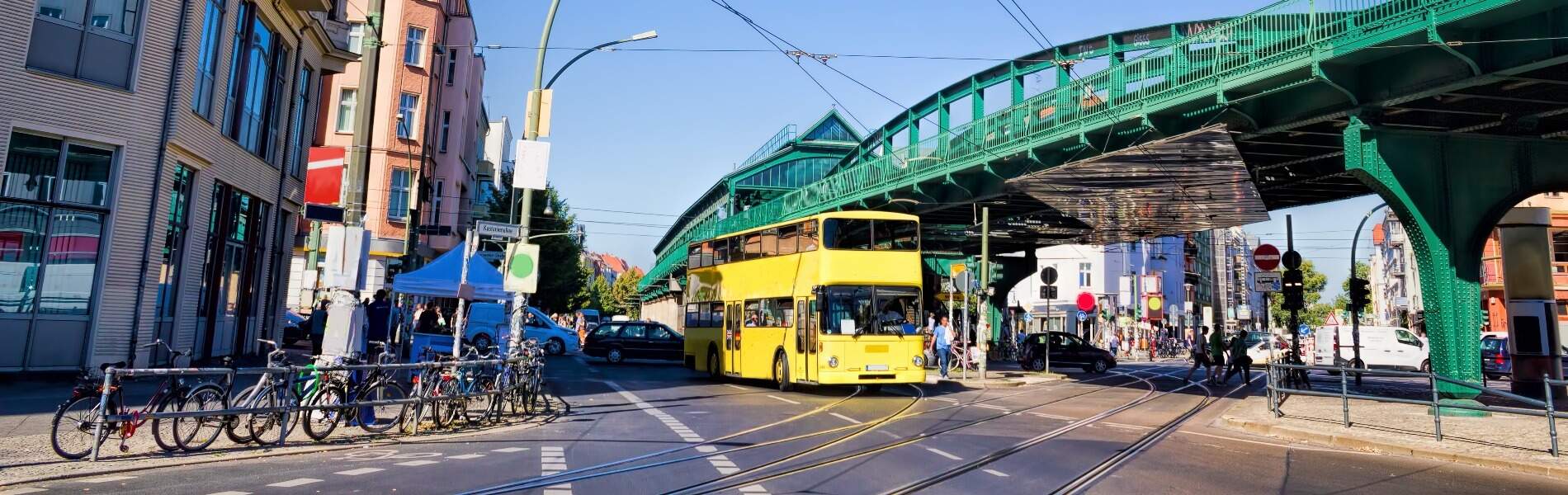 Berlin E-double-decker: technology leap into the 21st century