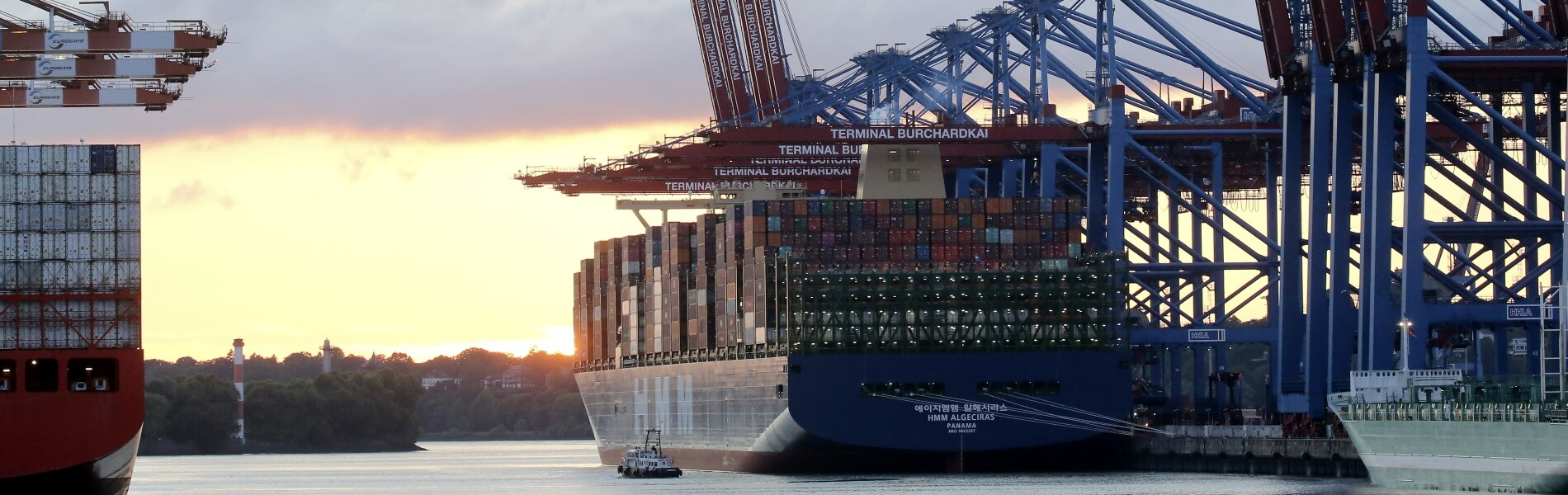 Even a bit bigger: Container ships are growing and growing