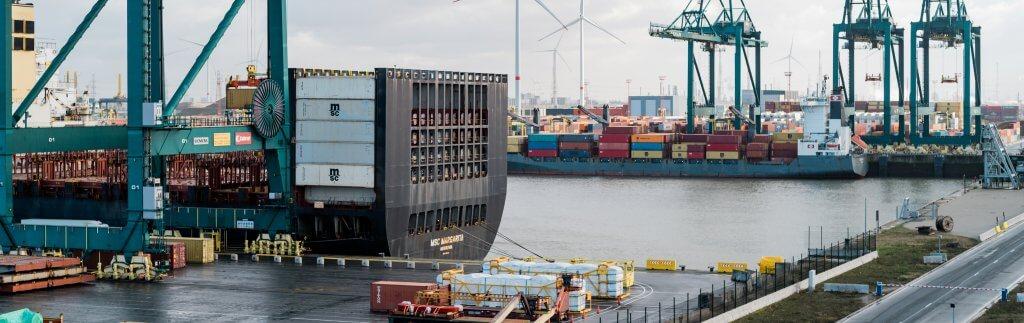 Intelligente Poller im Hafen Antwerpen