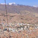 La Paz - Cable cars preventing traffic gridlock
