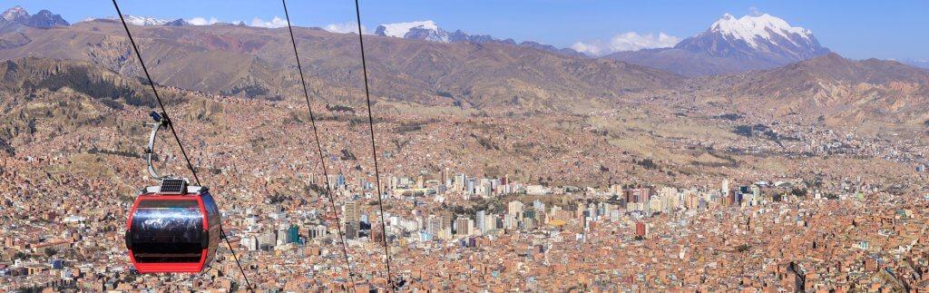 La Paz – Seilbahn gegen den Verkehrsinfarkt