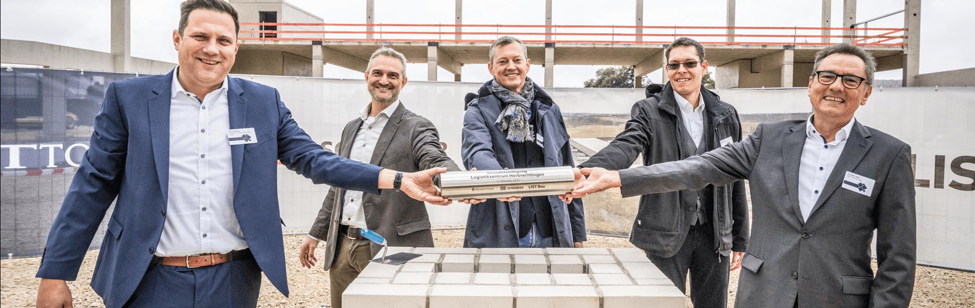 Startschuss für neues Cross-Dock-Terminal