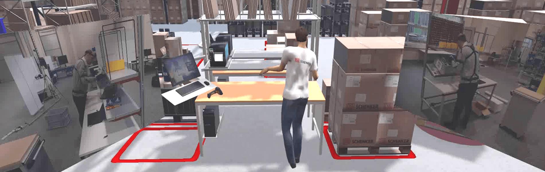Project E-Motion digitizes motion sequences