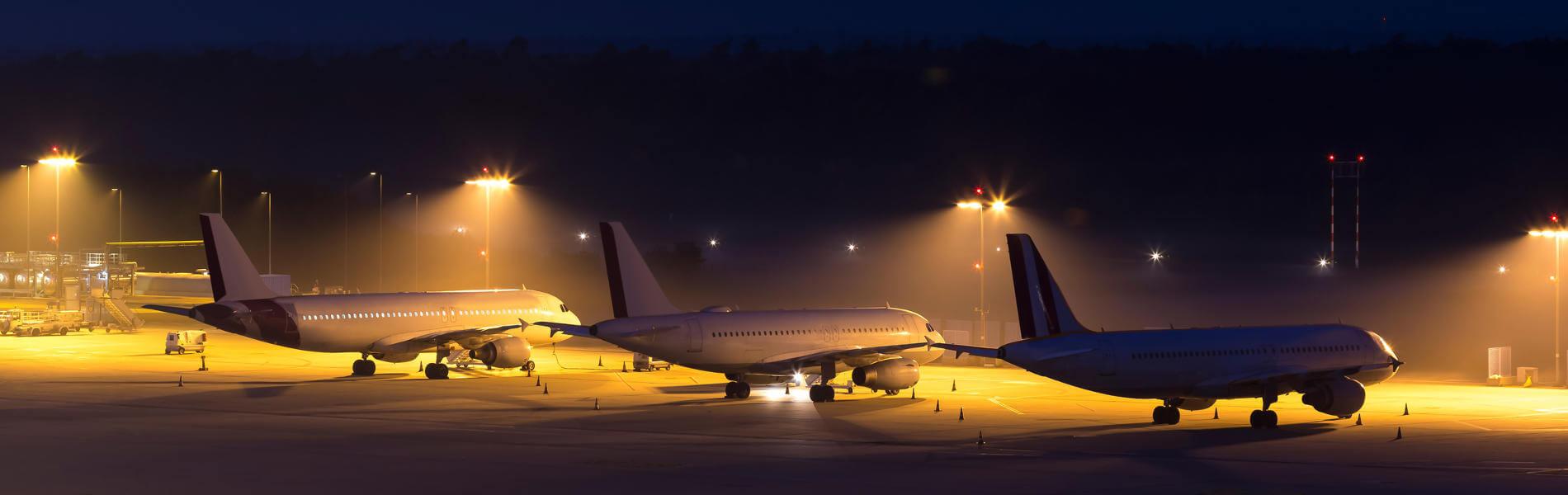 Logistik bei Nacht: Fortsetzung des Tages mit künstlicher Beleuchtung