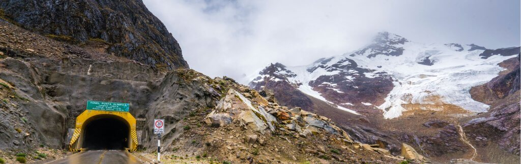 Vom Eismeer zu den Andengipfeln – Zwei Rekordtunnel und ihre Geschichte