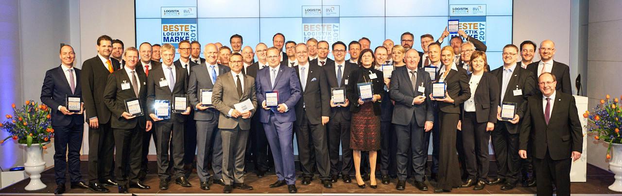 Logistics award: DB Schenker wins prize as best logistics brand