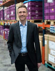 Jürgen Muckermann, head of the Eching Logistics office of DB Schenker