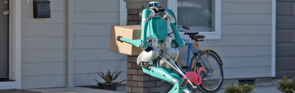 Roboter und Lieferdroiden: Hightech für die Letzte Meile auf der CES2020