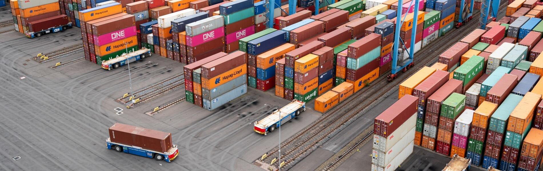 TÜV bestätigt Klimaneutralität des Container Terminals Altenwerder