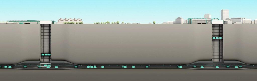 Cargo sous terrain: unterirdisches Verkehrsnetz soll Schweizer Straßen entlasten