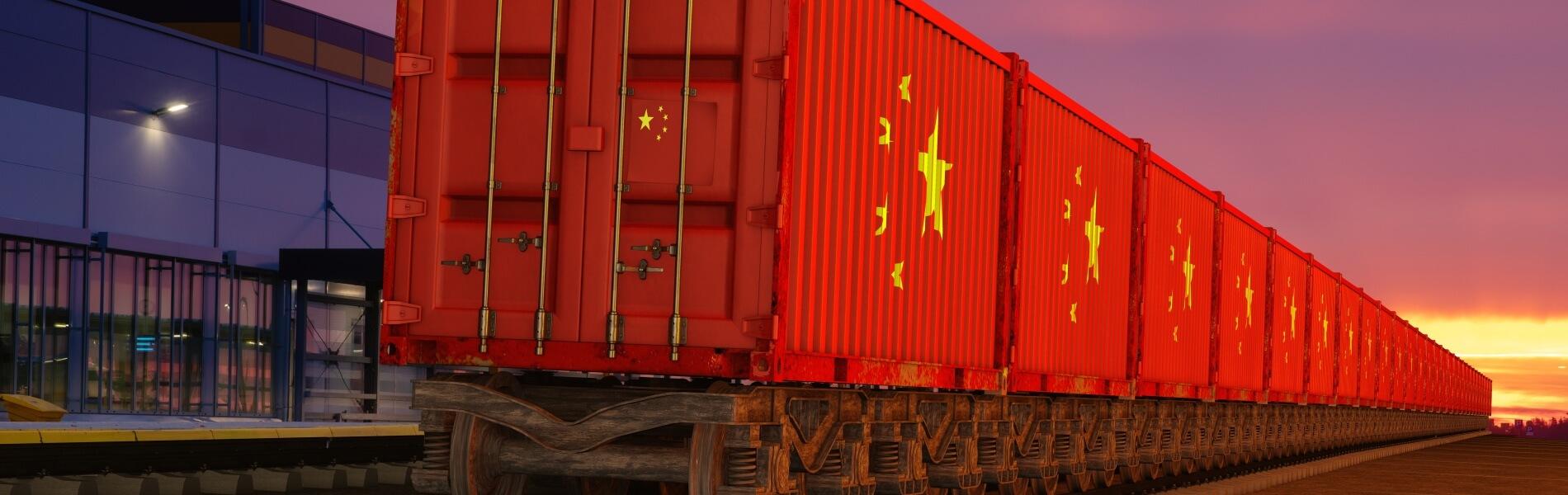 Über die Schiene nach China