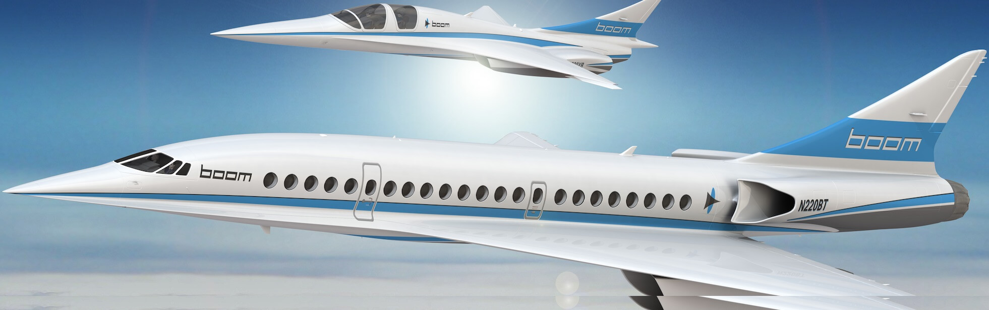 Rebirth of the supersonic jet