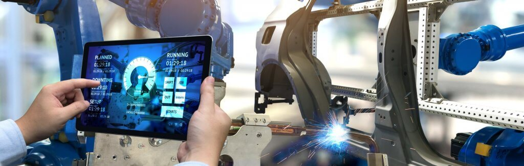 The car industry simulates future production
