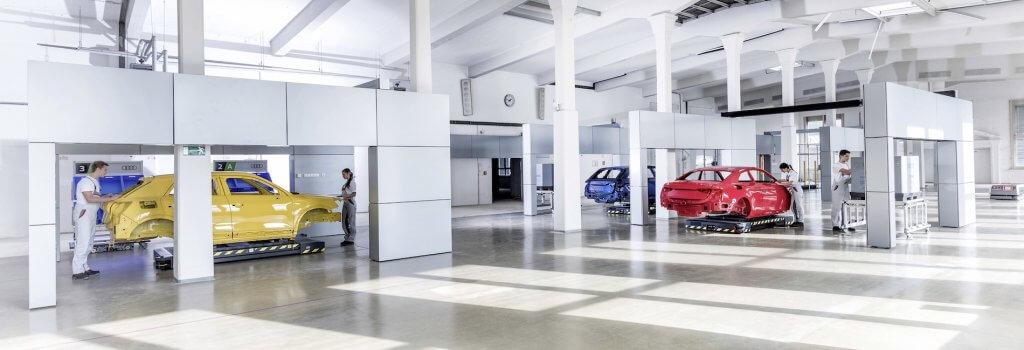 Modulare Fertigung: Audi sagt dem Fließband Adieu