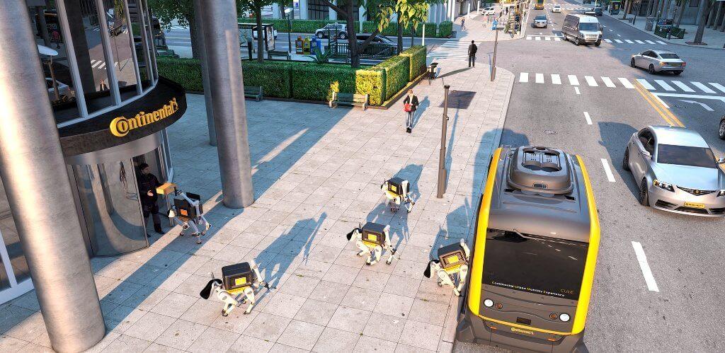 CUbe wurde von Continental entwickelt, um die fahrerlose Mobilität insbesondere in Städten zu erforschen. © Continental