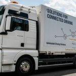 DB Schenker und MAN starten Platooning-Weltpremiere – auf dem Weg zum autonomen Fahren