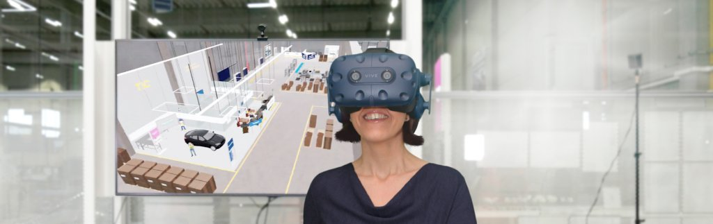 Casino digital: DB Schenker trains and advertises with virtual reality warehouse