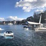 So könnte das künftige Dock in Genf aussehen © SeaBubble.com