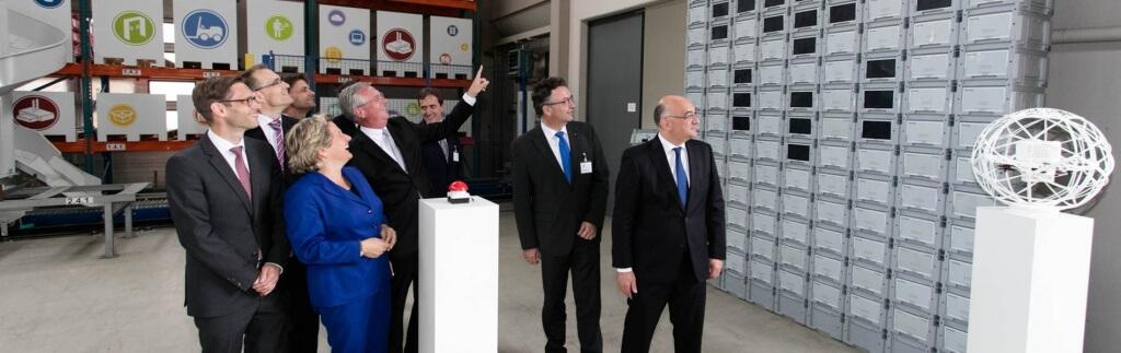 Fraunhofer IML und DB Schenker eröffnen Enterprise Lab Center