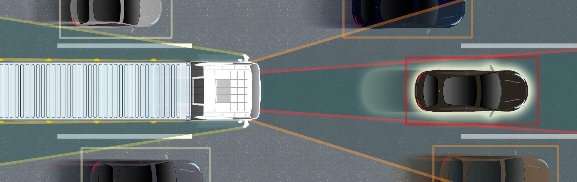 Platooning auf der A9: Fahrerassistenzsysteme agieren zunehmend autonom