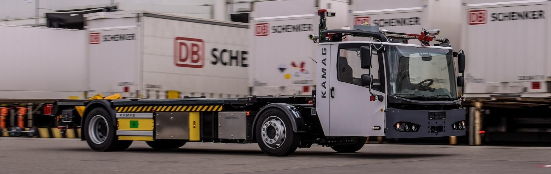 DB Schenker und Fernride: Automatisierte Yard-Logistik