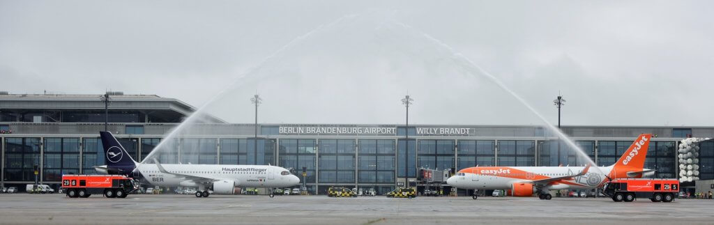 Flughafen Berlin Brandenburg nimmt den Betrieb auf