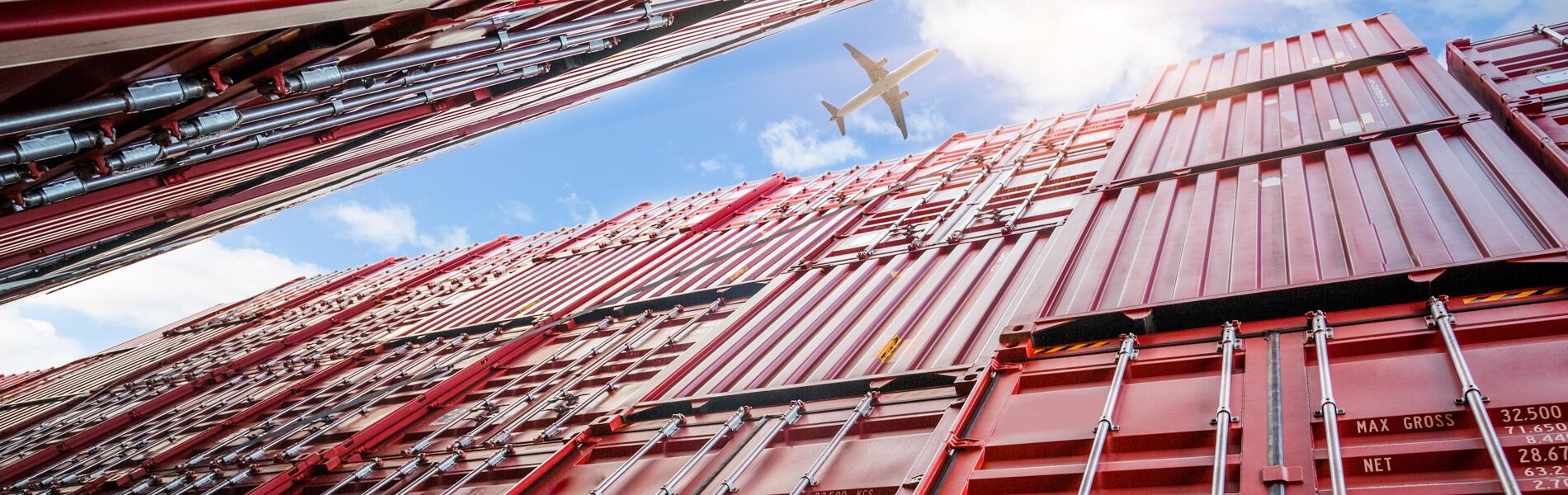 Container als Teil der intelligenten Lieferketten
