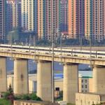Die Welt wird immer vernetzter: Mit Highspeed über die große Brücke Danyang–Kunshan in Ostchina