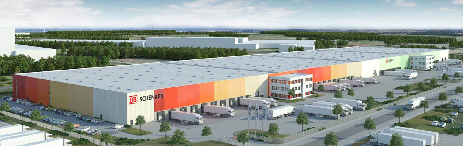 DB Schenker turns its logistics terminals green