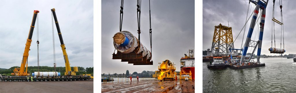 "Schwergut: ""Hammer-Transport"" für Offshore-Windkraft"