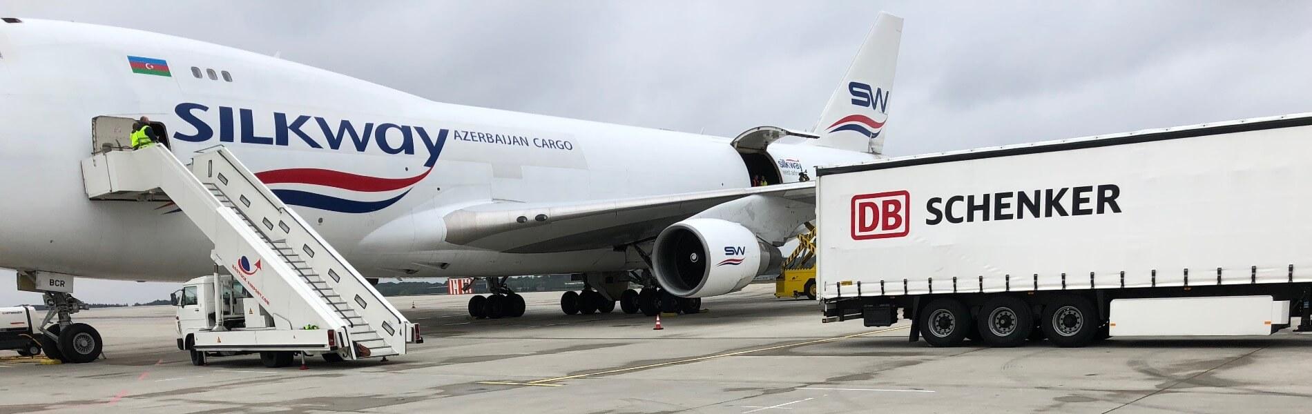 747-Frachflieger erstmals am Airport Rostock-Laage