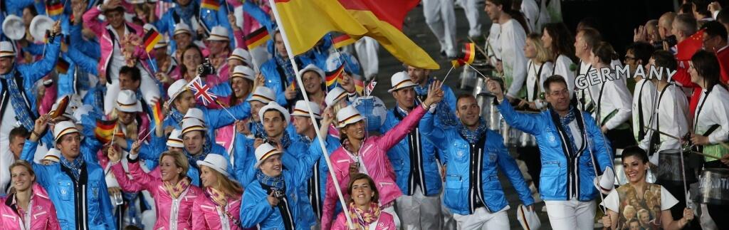 Olympiakleidung für den Laufsteg Maracanã