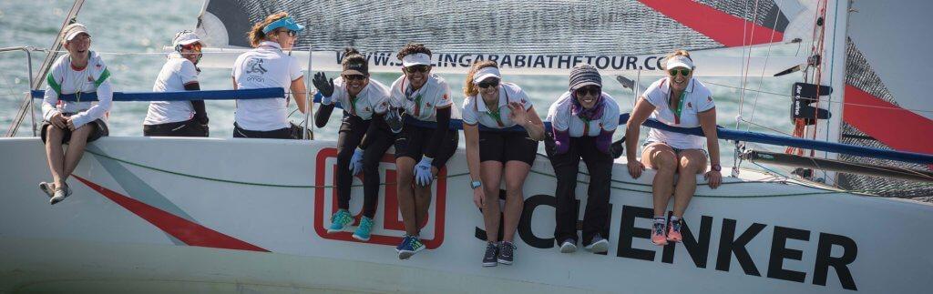 Startschuss für die Oman Sail – DB Schenker ist dabei!