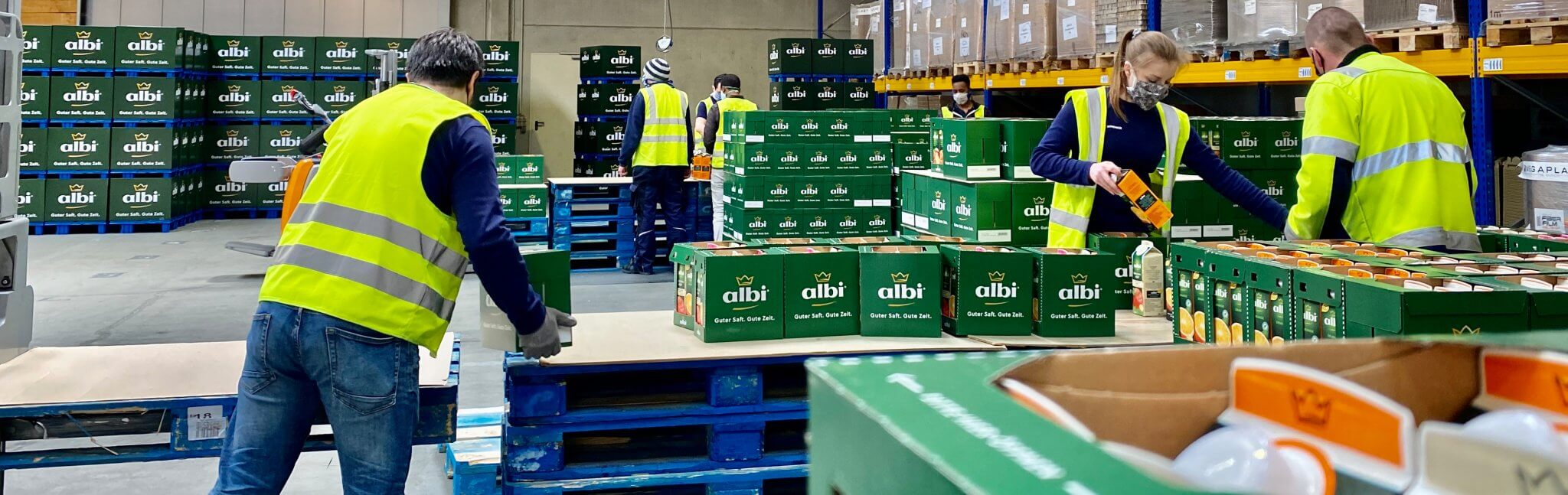 Vitamin logistics – contract logistics for fruit juices