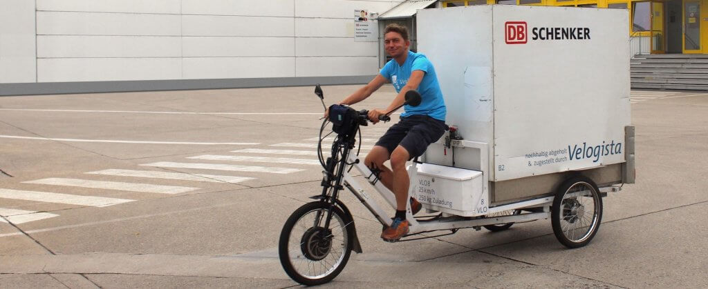 Agile logistics: electric cargo bikes ensure sustainable transport at DB Schenker