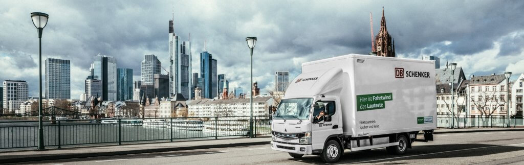 Electro mobility in urban delivery traffic: DB Schenker takes over eCanter from Fuso