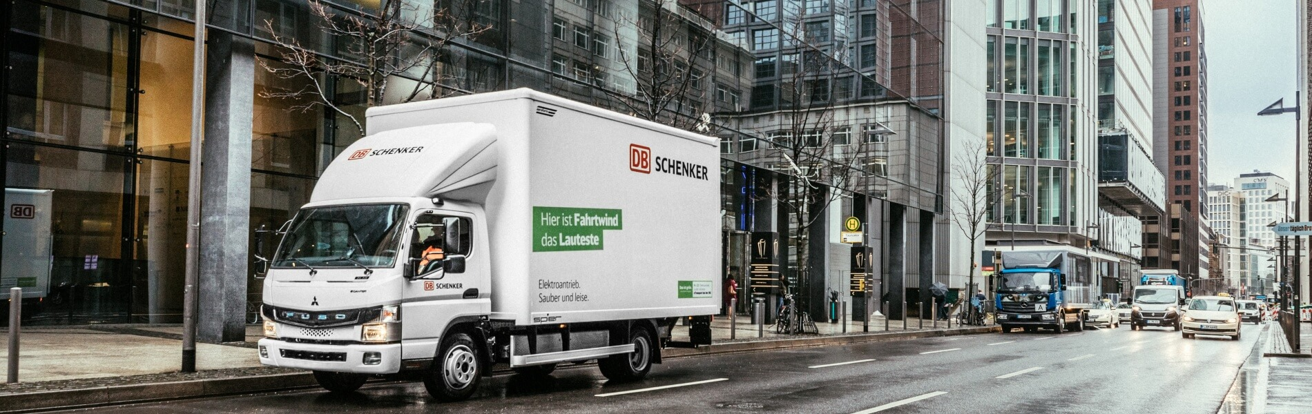 DB Schenker is testing electric delivery in several European cities
