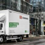 DB Schenker testet die elektrische Belieferung in mehreren europäischen Städten