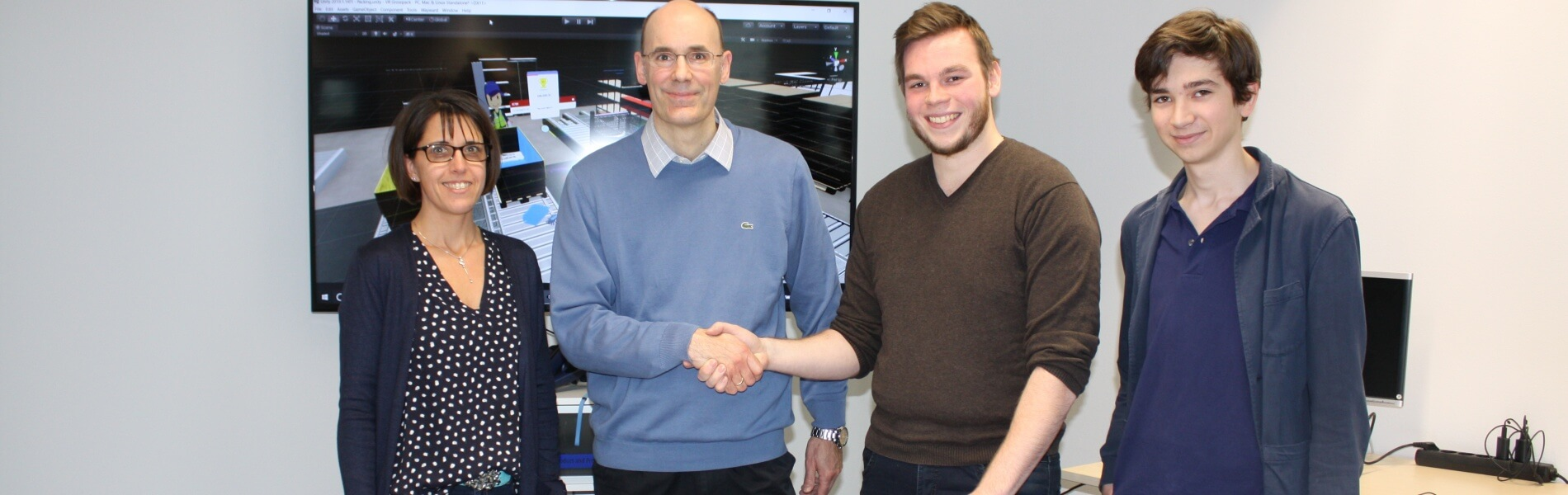Game developer contracted by logistician DB Schenker