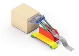 Ein Modellbild des Robotiksystems (Bild: BLG Logistic)