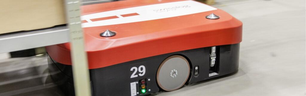 Roboter revolutionieren die Abwicklung von Online-Bestellungen