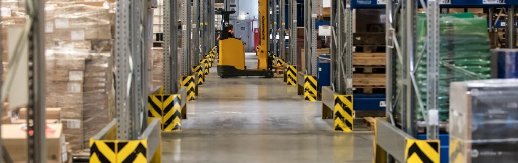 """The future of warehouse space """"We can compensate fluctuations well""""."""