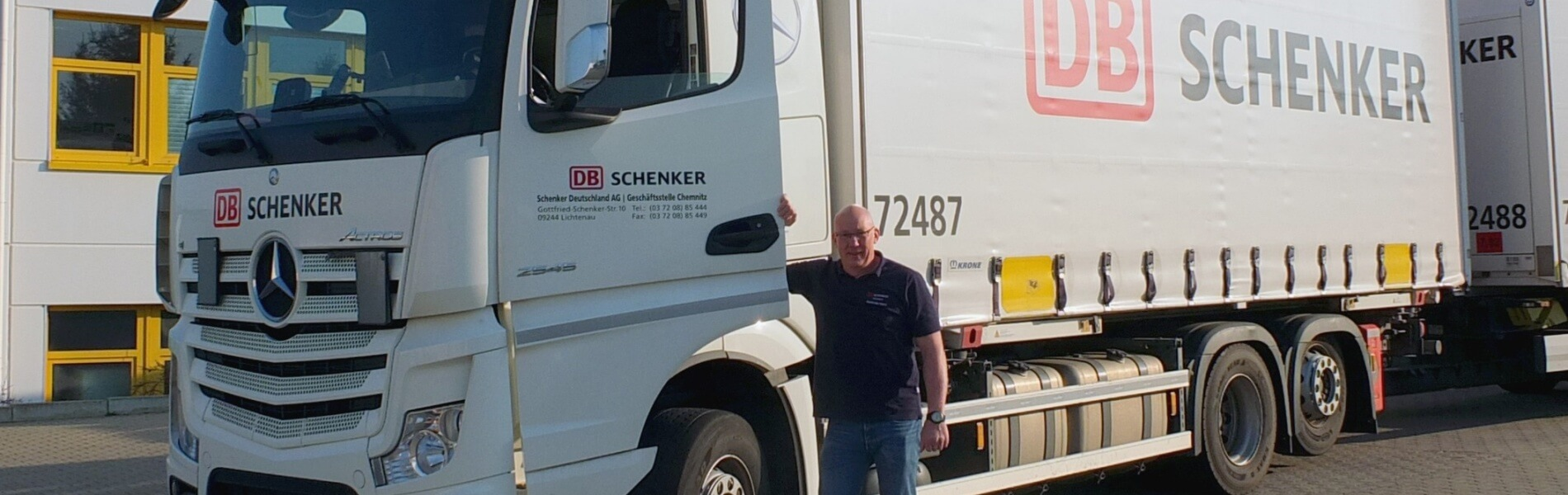 A thank you for the multi-million-kilometer driver and his colleagues