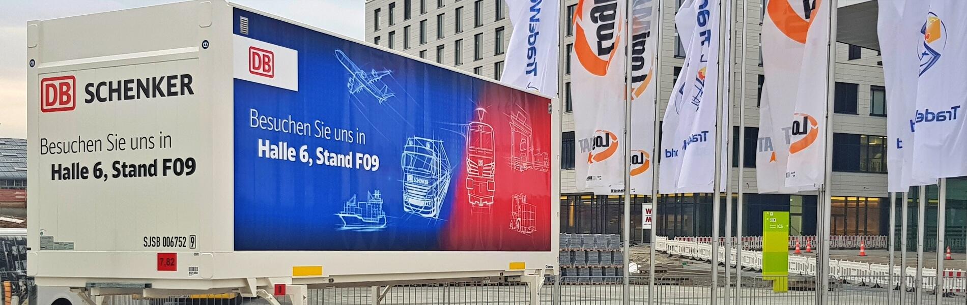 An industry undergoing digital transformation – DB Schenker at LogiMAT 2019