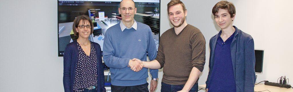 Spieleentwickler Start-up beim Logistiker DB Schenker unter Vertrag