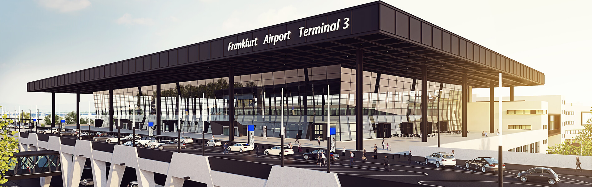 Current Infrastructure Projects: Frankfurt Airport: Fraport is building Terminal 3