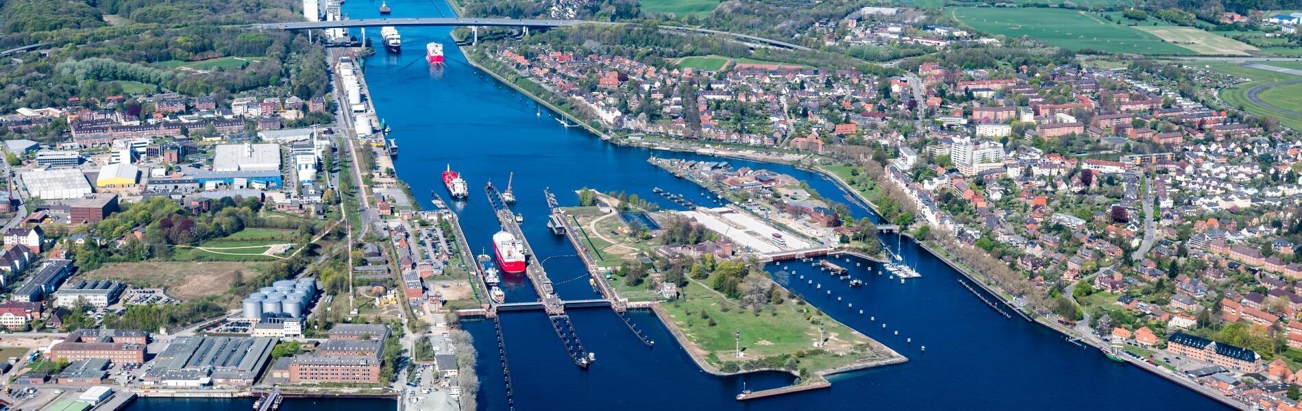 Der Nord-Ostsee-Kanal – die meistbefahrene künstliche Wasserstraße der Welt