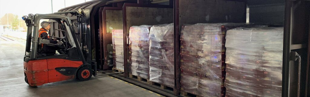 Nudeln satt: sichere Lieferketten für Lebensmittel