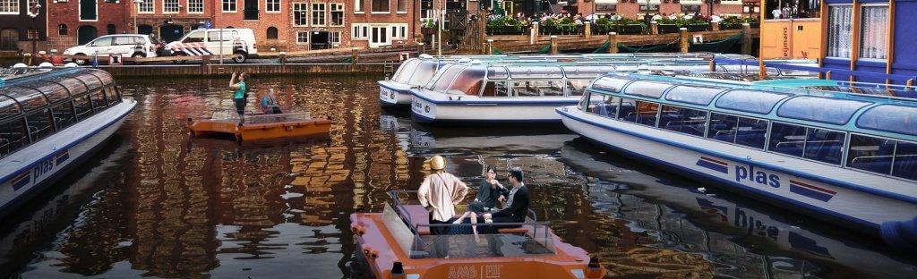 Autonomes Fahren: Roboter-Schiffe in Amsterdam